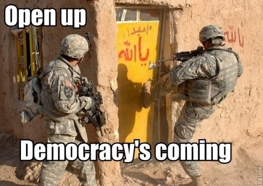 کتاب حاکمیت الله و نه حاکمیت مردم ، تناقض در دموکراسی (قسمت اول